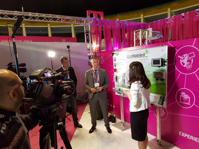 EcoMobile presented solutions at  Internet & Mobile World 2016 Buchares
