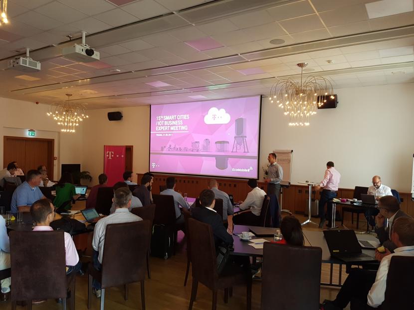 Smart City meeting Deutsche Telekom in Tirana