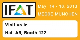 Visit us at the IFAT