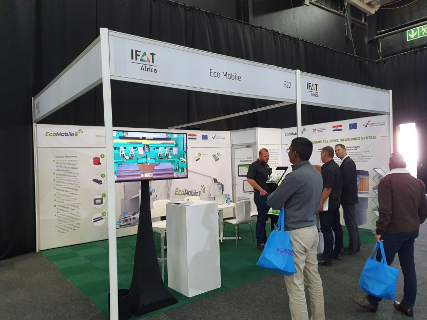 EcoMobile at IFAT AFRIKA exhibition in Johannesburg