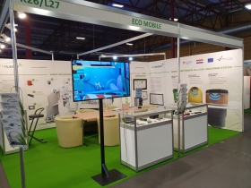EcoMobile at Environment and Energy exhibition in Riga