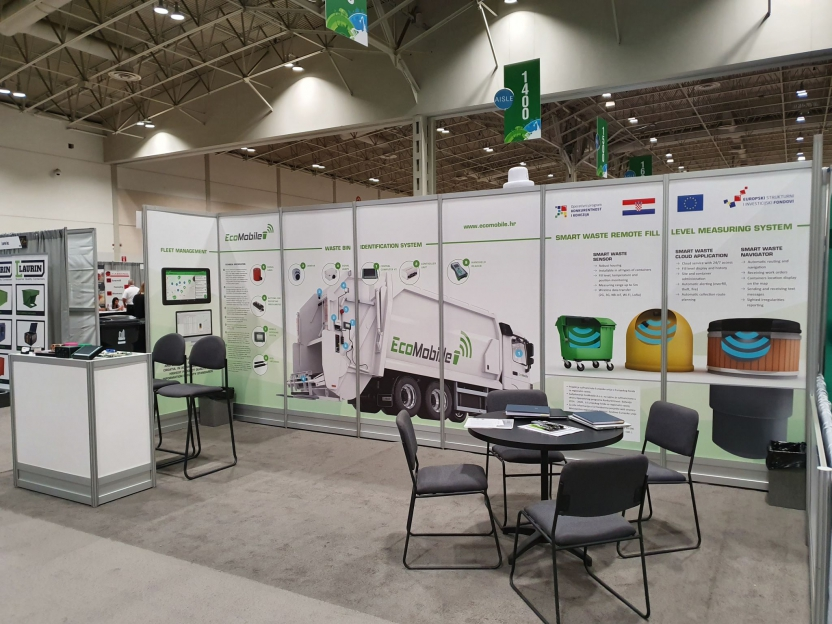 EcoMobile at Waste & Recycling and the Municipal Equipment Expo in Toronto