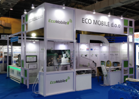 EcoMobile na sajmu IFAT Africa u Mumbaiju