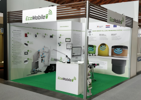 EcoMobile at ECOMONDO the green technology expo in Rimini